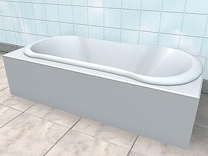 bathtube 3d model