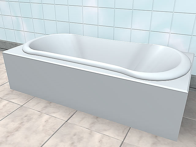 bathtube 3d model
