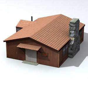 3d model nature camp
