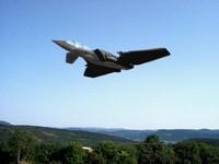 3d futuristic jet splines plane model
