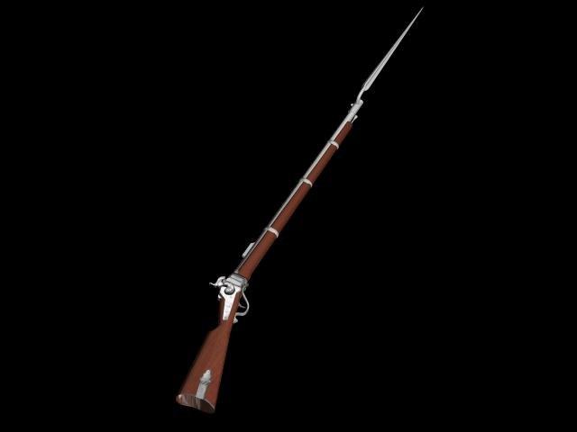 3d sharps carbine