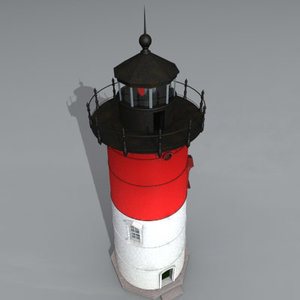 3d model cape light house