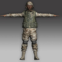 soldier rigged max