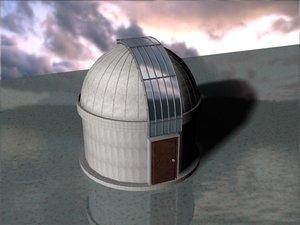 3d observatory building