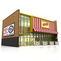 3ds max retail shop