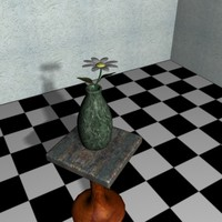 free ma model present flower vase