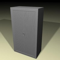 silver office filing cabinet max