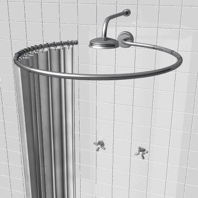 shower enclosure lws 3d model