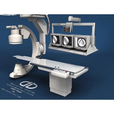 angio medical 3d model