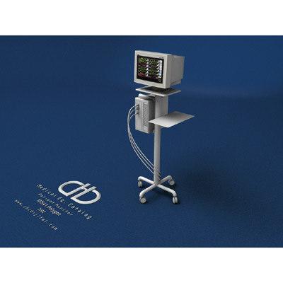 patient monitor 3d max