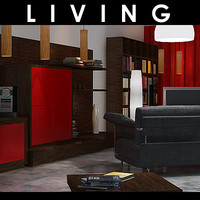 living furniture 3d model
