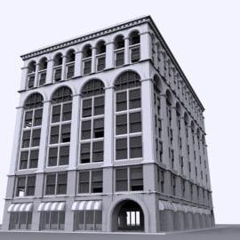 buildings 3d model
