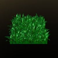 free lwo model herbe grass