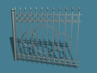 3ds max fence park street