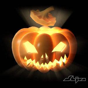 3d pumpkinhead pumpkin head