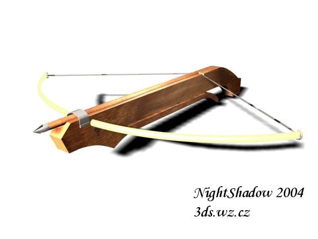 3ds max crossbow