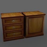 locker dresser 3d model