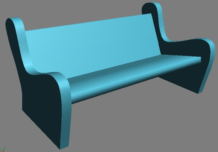 cartoon bench max