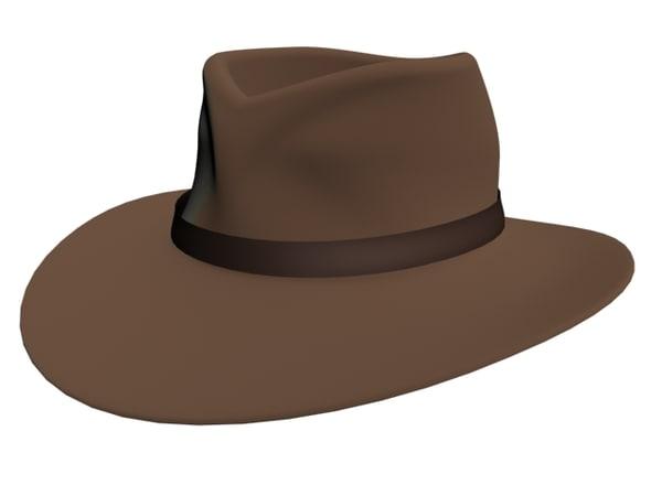 3d model hat band
