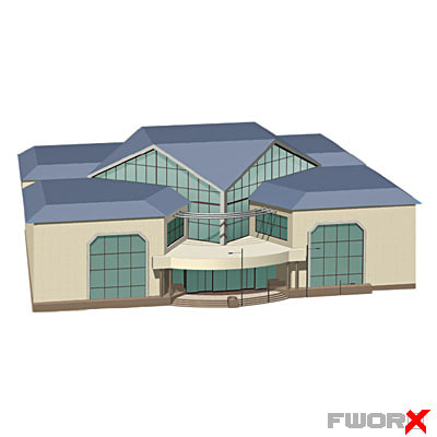 3d model trading center