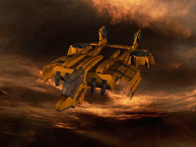tiber ship 3d model