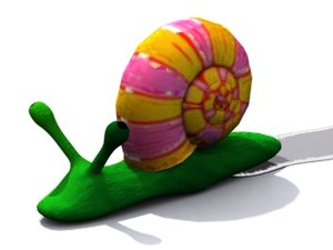 hippie snail character max free