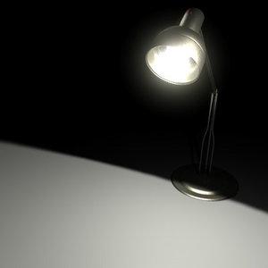 3d lamp office model