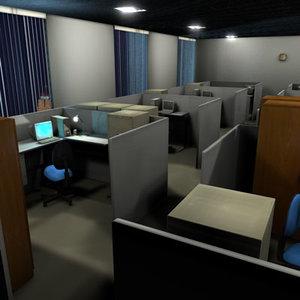 c4d office indoor chairs