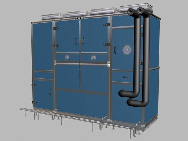 monobloc mono bloc 3d model