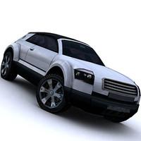 audi suv car 3d model