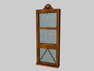 3d storm window model