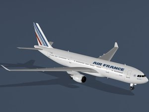 airbus a330-200 air france 3ds