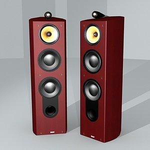 3d model b w acoustic