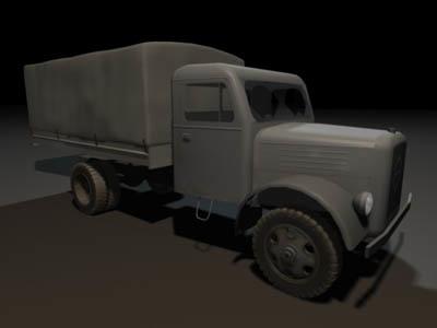 3d max transport truck