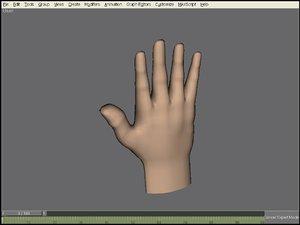 free max model hand