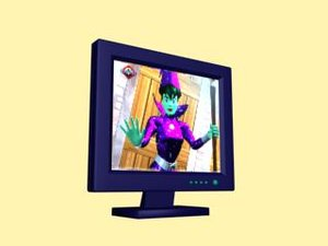 3d lcd screen monitor
