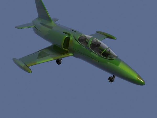 jet airplane 3d model