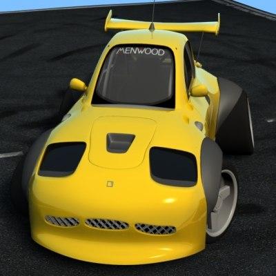 knutschkugel car paint 3d model