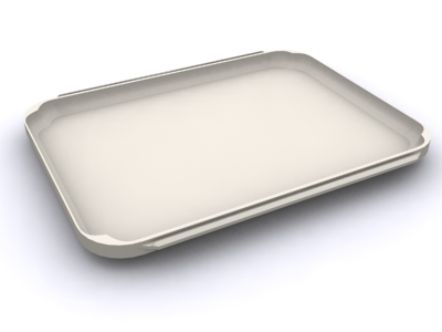 serving tray 3d model