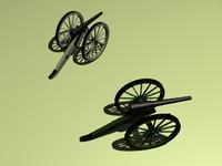 3ds max cannon parrott