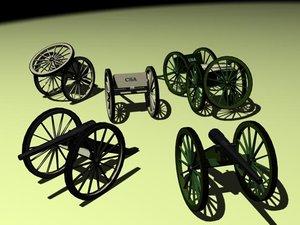 max cannon set parrott