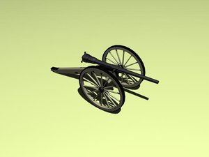 cannon whitworth 3d max