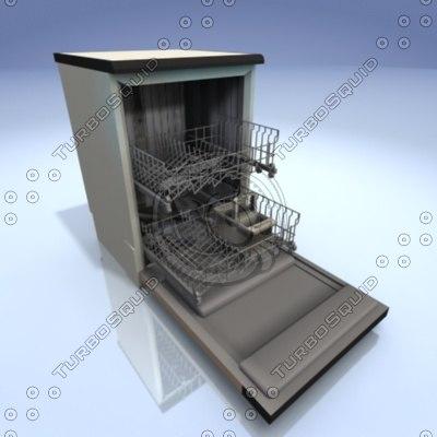 3d dish washer