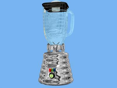 blender appliance 3d model