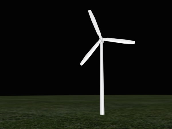 3ds windmill power