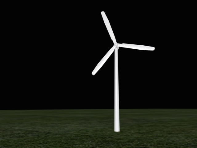 3ds windmill power
