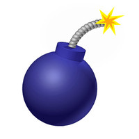 bomb(cartoon).c4d