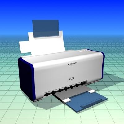 3d canon model