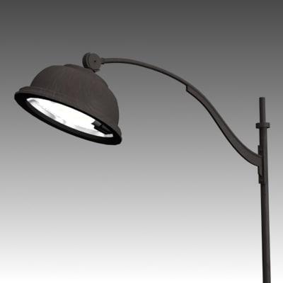 3d model streetlight 2