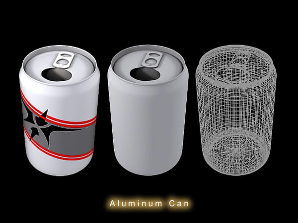 3d model drink soda